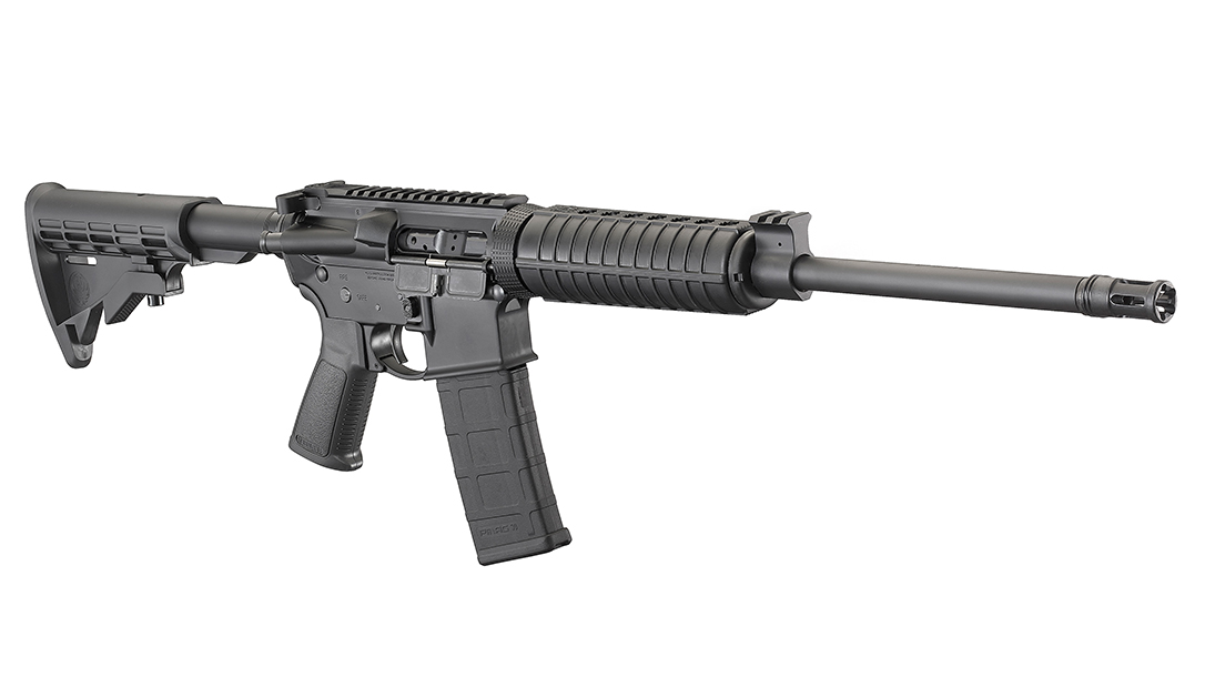 6 of the Best Guns for Home Protection, Ruger AR-556 Optics Carbine