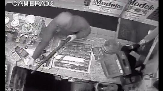 California Clerk Wrestles Shotgun From Robber