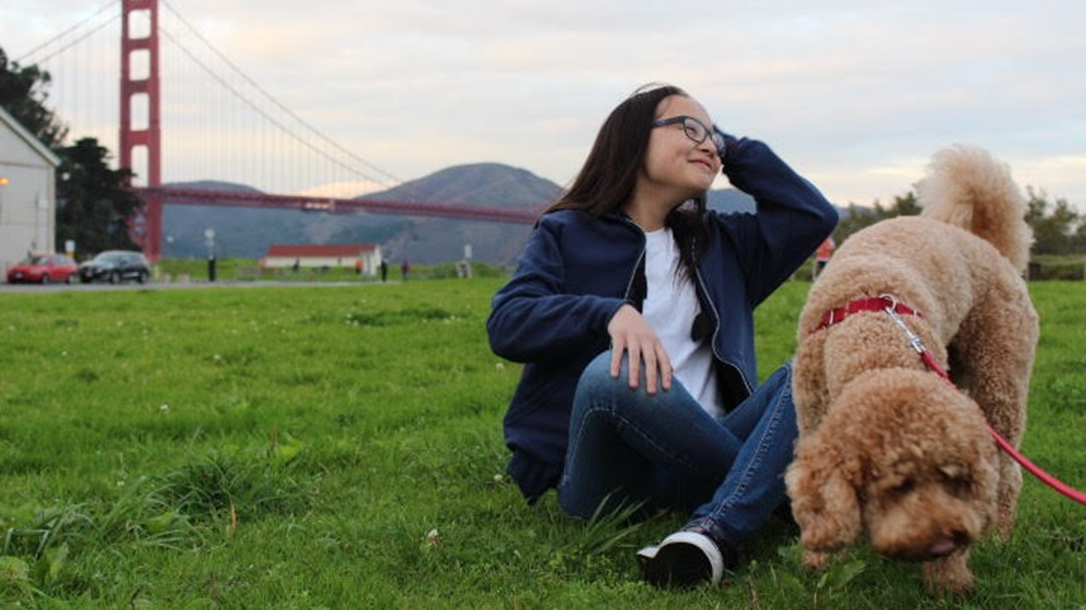 Wonder Hoodie, kid, dog