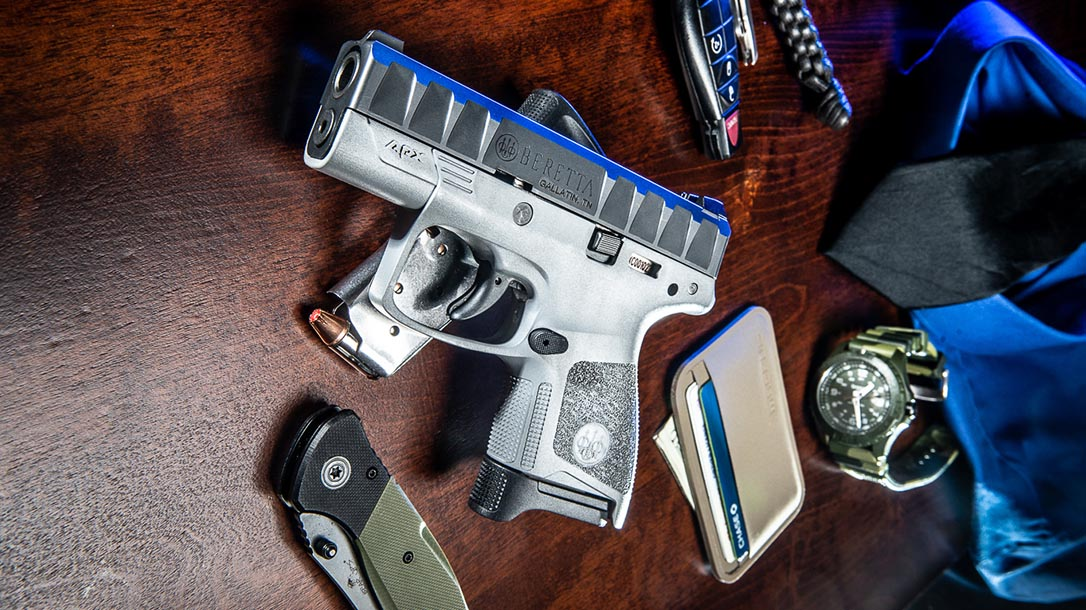 Beretta APX Carry pistol, concealed carry, lead