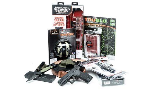 Taurus TX22 Pistol giveaway, folding knife, gun gear giveaway