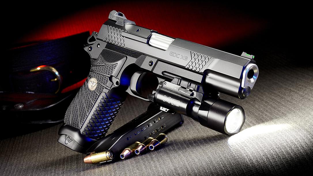 Wilson Combat EDC X9L Pistol, Full-Size Wilson Combat EDX X9, light