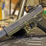 Glock 22 9mm conversion, Glock 22 RTF2 pistol, left