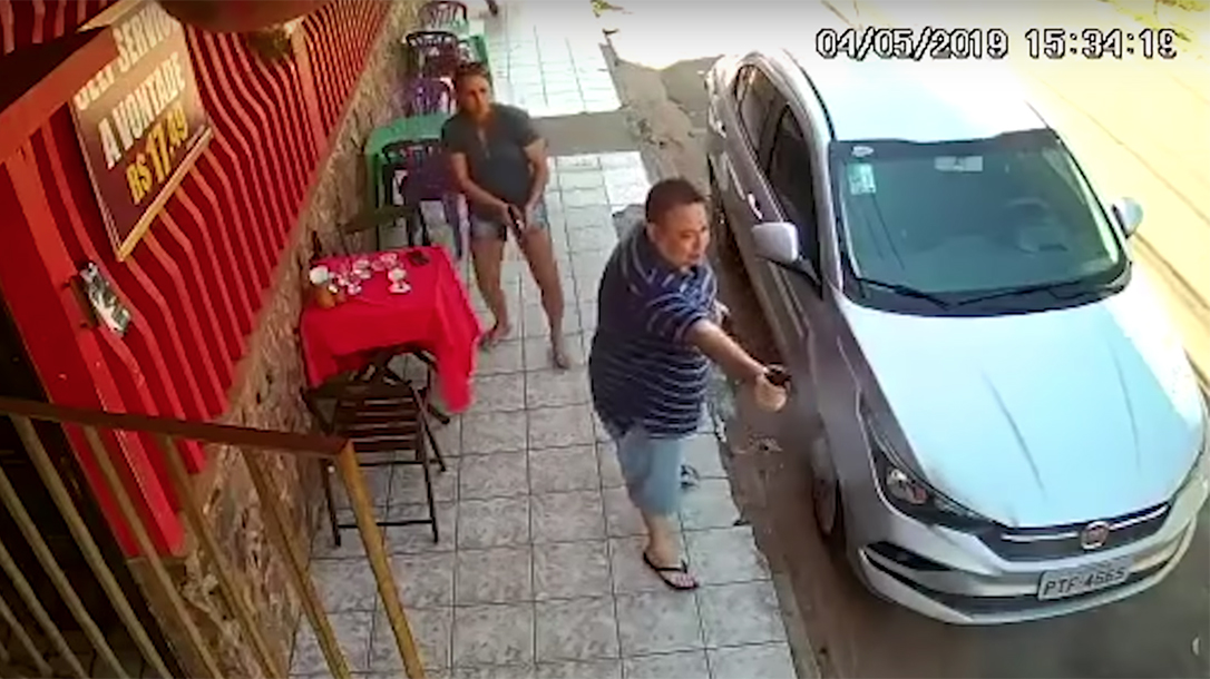 Armed Brazilian Couple