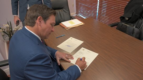Governor Signs Florida Classroom Carry Bill