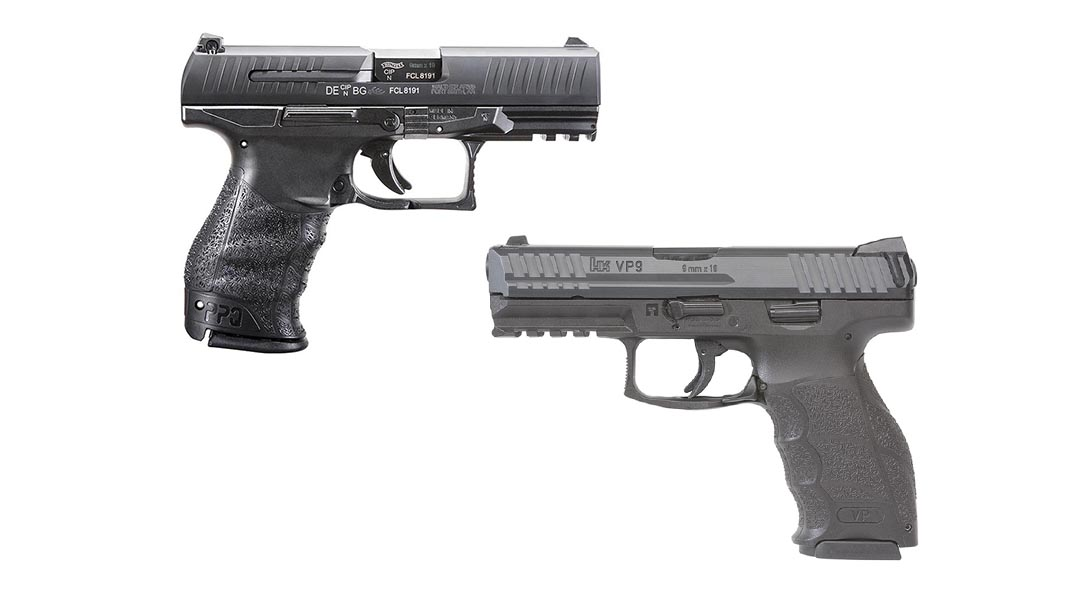 HK VP9 vs Walther PPQ