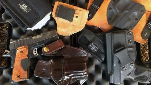 Selecting a Concealed Carry Holster, Milt Sparks, Blackhawk, CrossBreed, Galco