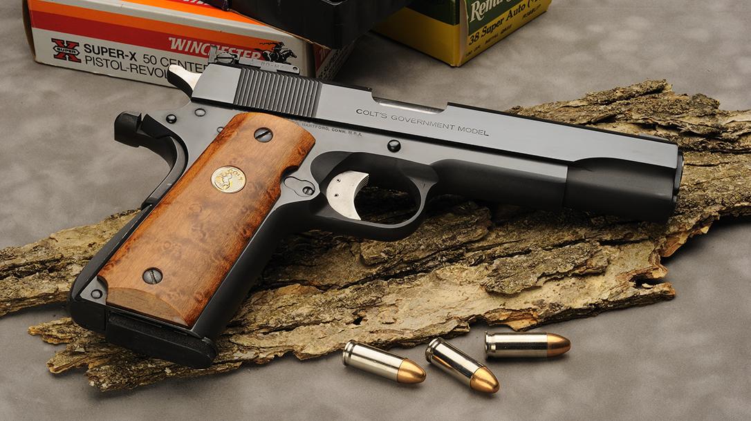 38 super ammo, Colt Government