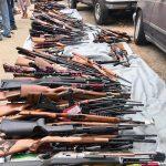 Rifles Seized, LA Gun Seizure