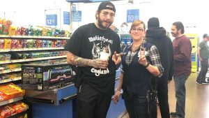 Post Malone Open Carries in Walmart, open carry