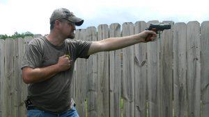 Off Hand Shooting, training, self defense
