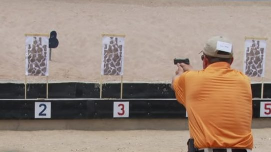 Gunsite Instructor Charlie McNeese Demonstrates Presentation