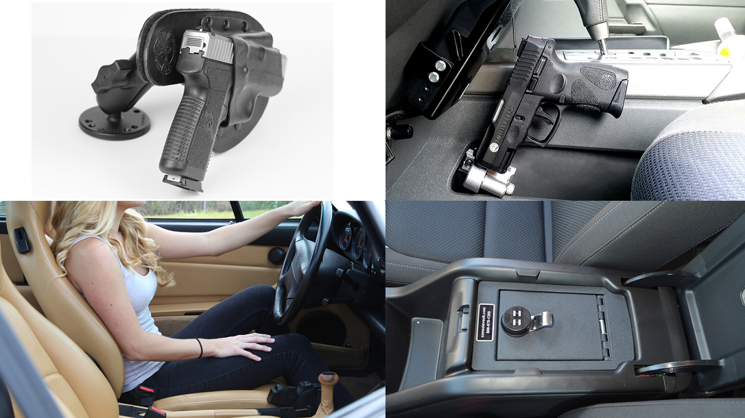 Four Types of Car Holster for Carrying on the Move
