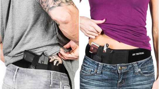Carrying without a belt using 10X Tactical belly bands