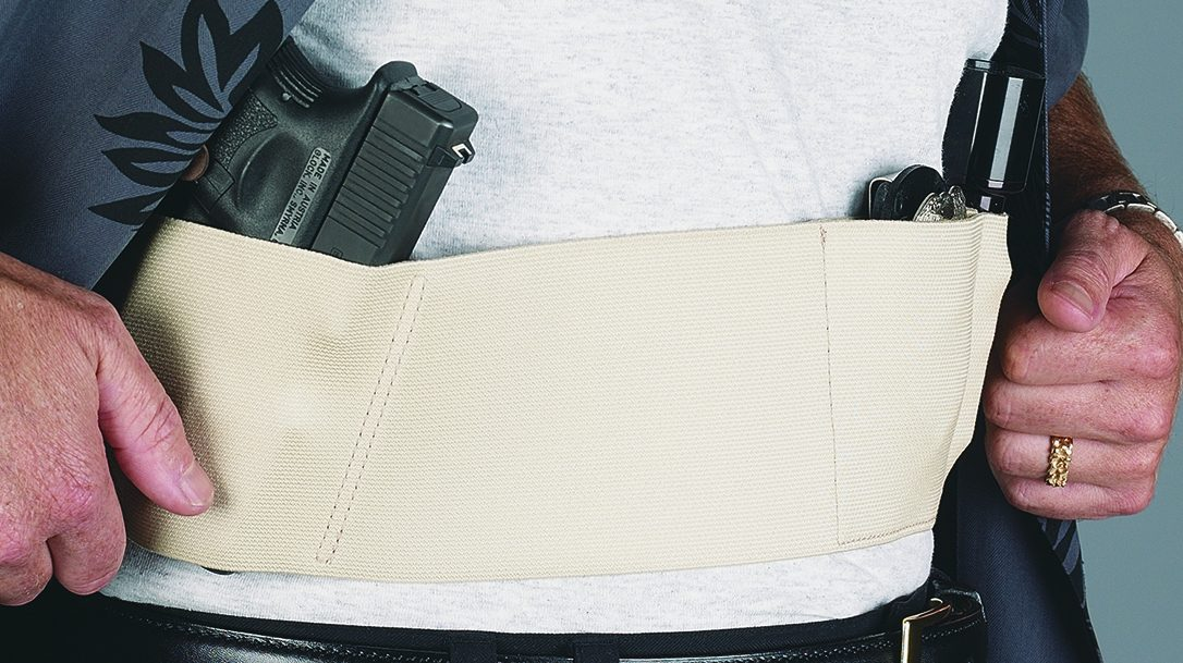 Carrying Concealed without a belt using Galco UnderWraps