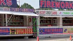 Fireworks Stand Employee Shoots Robber