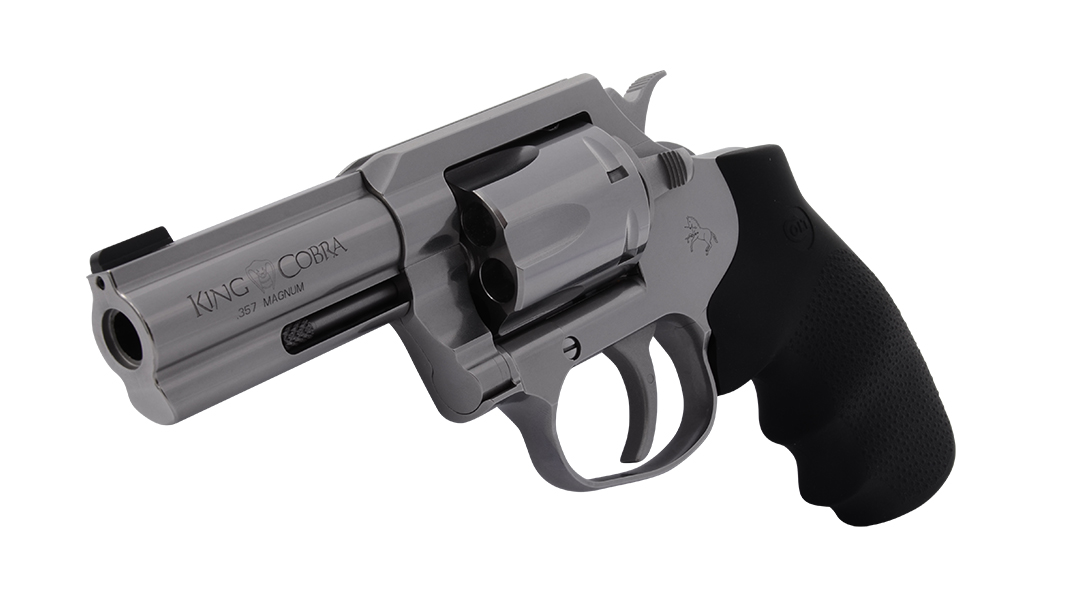 Colt 3-Inch .357 Magnum King Cobra Front Angle View