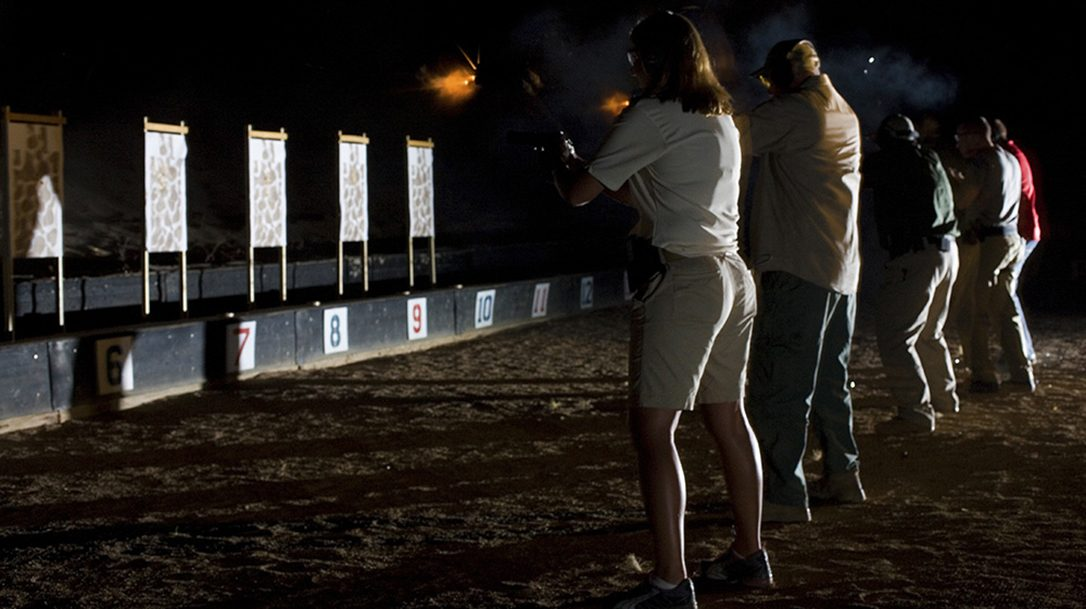 Gun handling in low light
