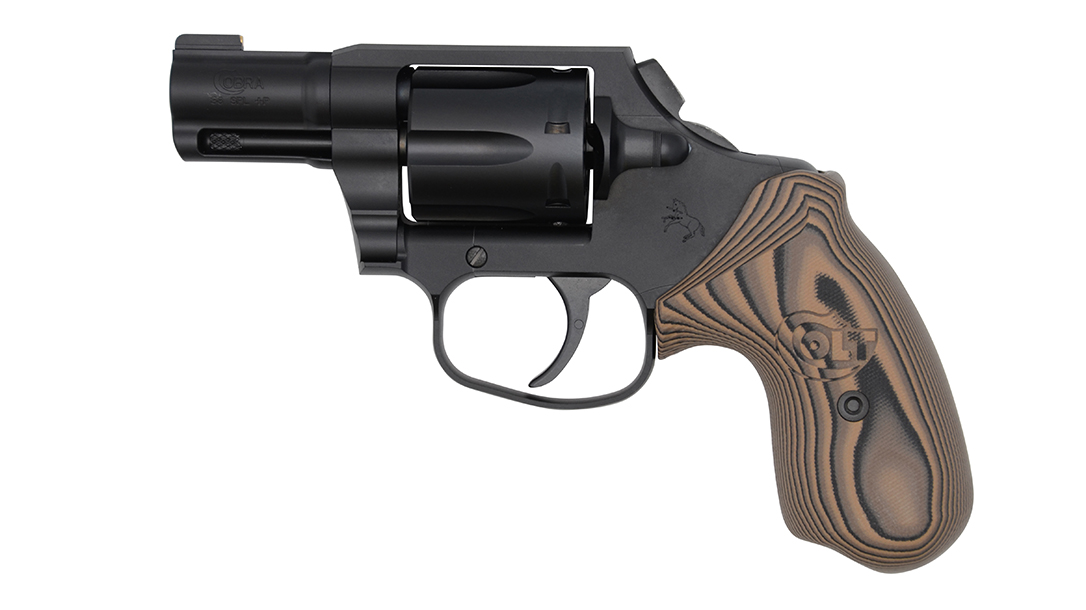 2-inch Matte Black DLC, .38 Special Night Cobra