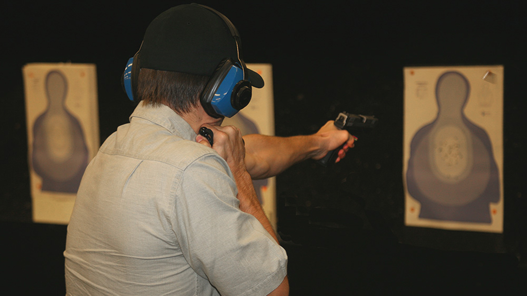 Gun Handling with one-hand practice