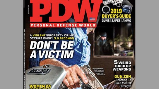 Personal Defense World August - Sept 2019