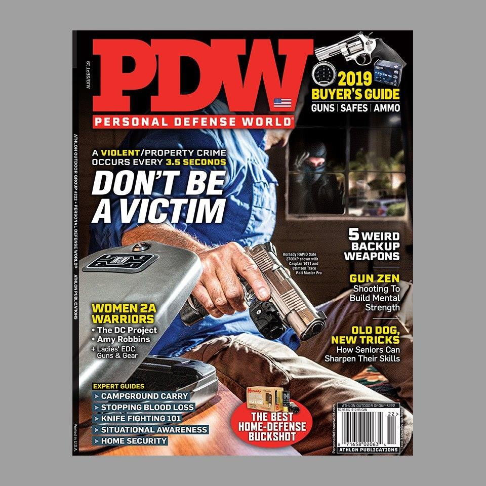 Personal Defense World Aug-Sept 2019