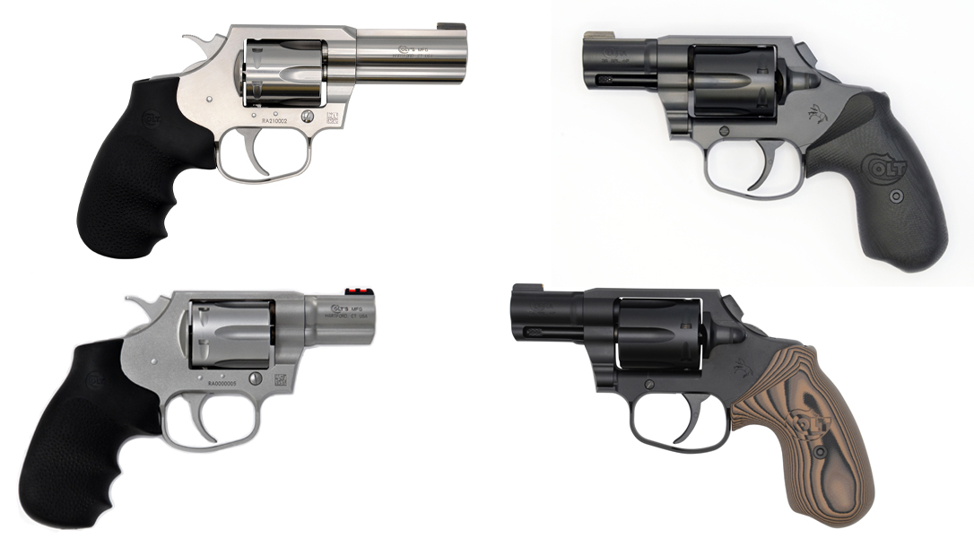 California compliant Colt Cobra Revolver models