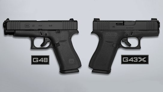 Glock Slimline all-black G48, G43X