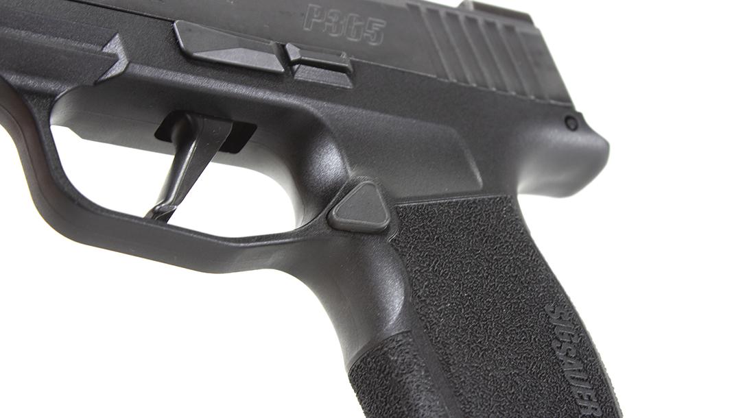 SIG P365 XL Pistol, SIG Sauer P365 XL, magazine release