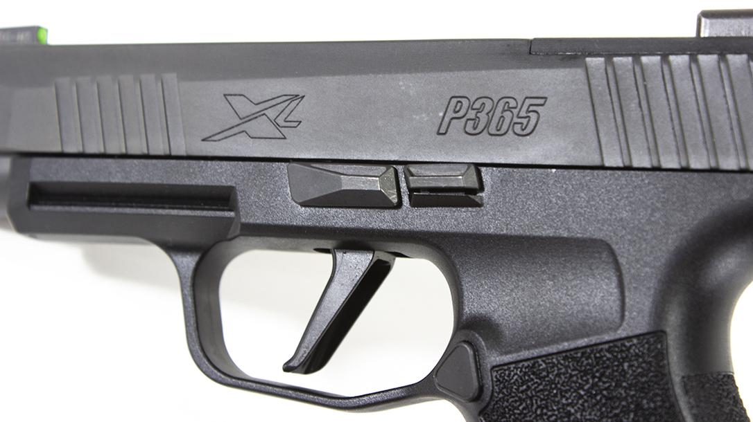 SIG P365 XL Pistol, SIG Sauer P365 XL, trigger