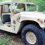 Military Humvee Right Quarter.