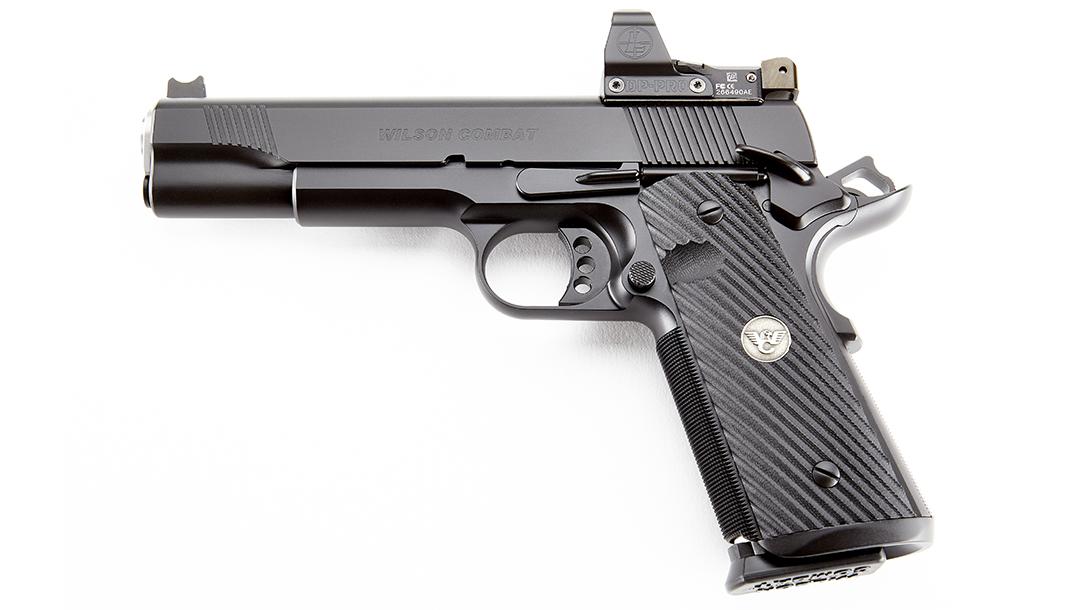 Wilson Combat CQB Elite optics-ready pistol