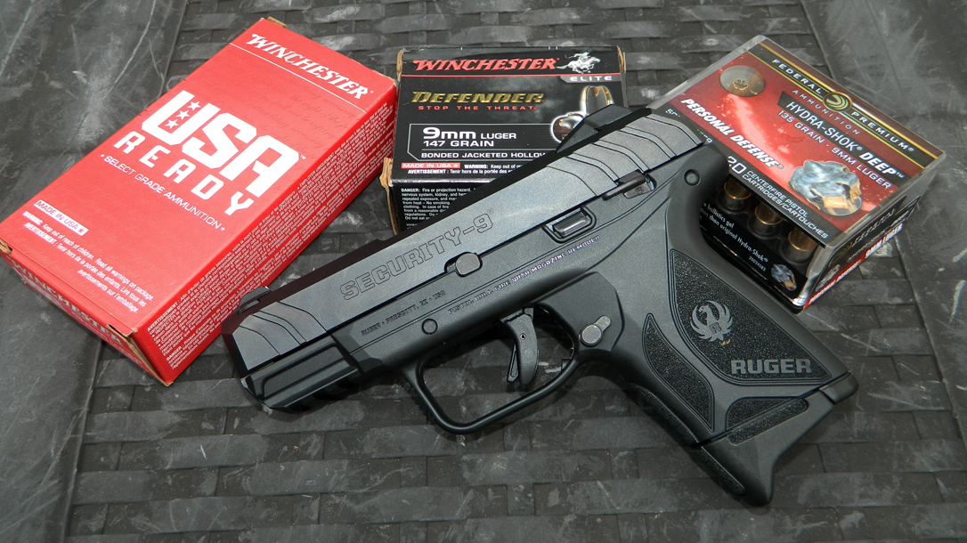 The author tested the Ruger Security-9 Compact with several loads.