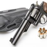Ruger GP100 10mm, holster and ammo