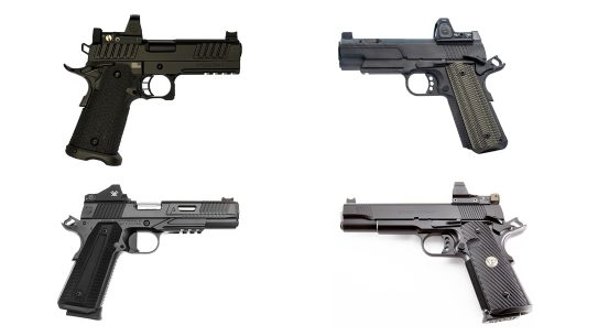 Battle Royale test with optics-ready 1911 pistols