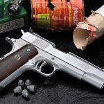 Shooting handloaded .45 ACP Ammo through a 1911 is very nice