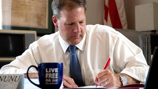 New Hampshire Gov. Chris Sununu vetoes gun control bills