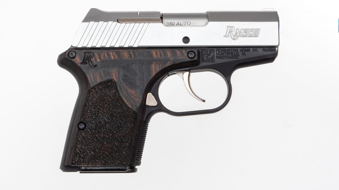 Remington RM380 Executive was designed for deep concealment
