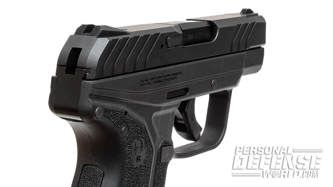 Ruger LCP II slide measures just 0.75-inch in width