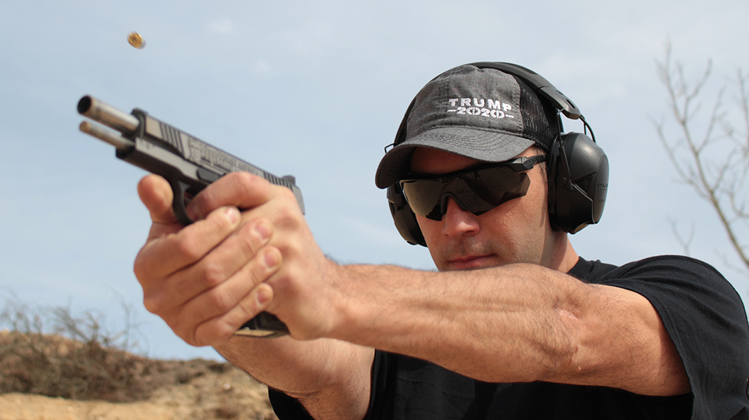 Shooting the Auto-Ordnance Trump 1911