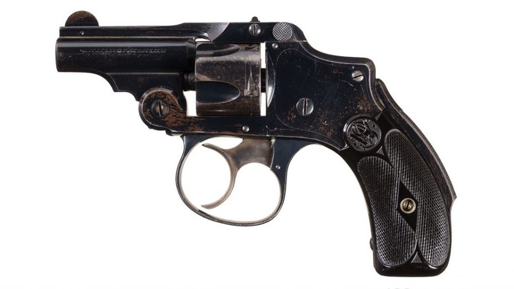 S&W Hammerless got its name from being comfortable on a bicycle