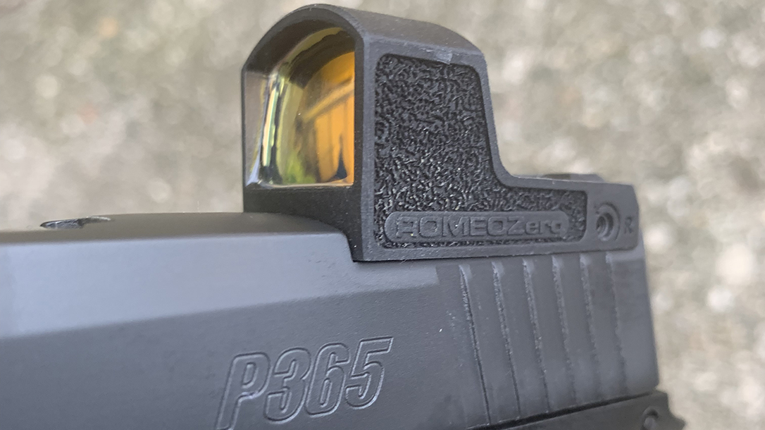 ROMEOZero red dot sight, close up