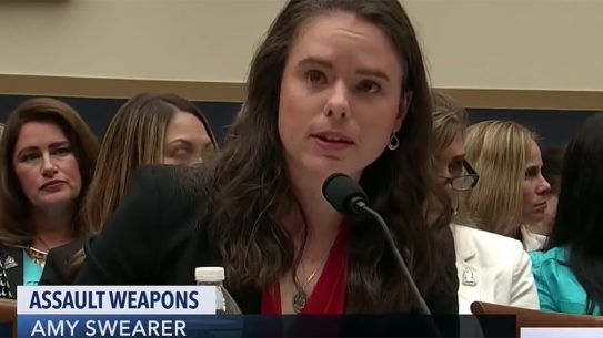 Amy Swearer, The Heritage Foundation's Amy Swearer gave four compelling reasons for no assault weapons ban before House Judiciary Committee.
