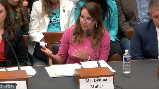 Dianna Muller spoked before House Judiciary Committee.