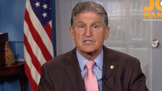 Senator Joe Manchin attempted to distance himself from Beto gun comments.