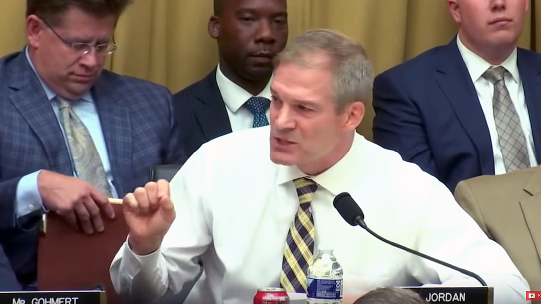 Rep. Jim Jordan spoke out against red flag laws.