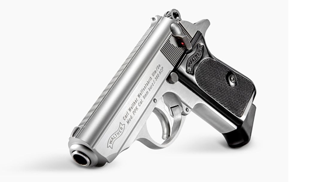 The new Walther PPK Stainless is well suited for concealed carry.