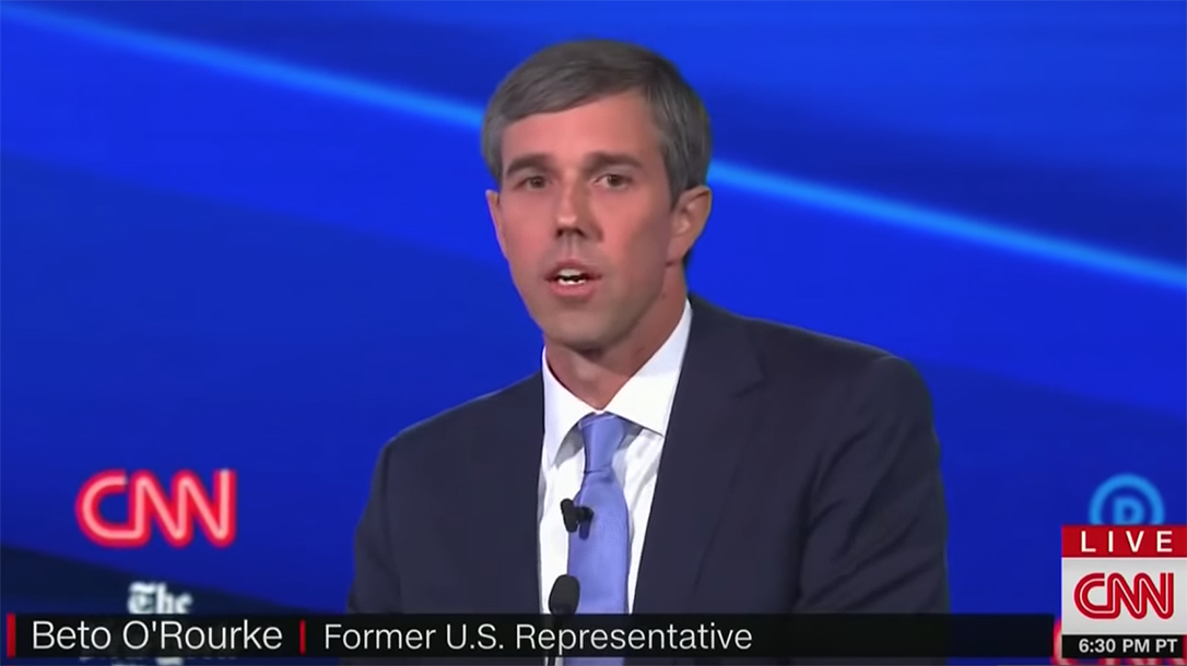 Beto O'Rourke said gun owners face consequences if they fail to turn in guns.