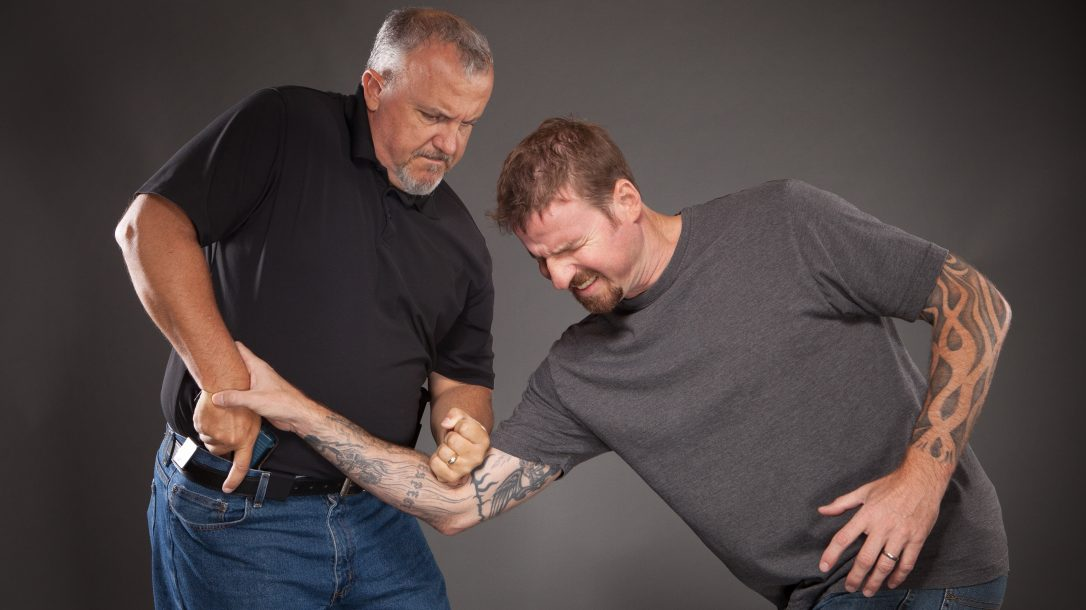 Learn how to protect your firearms when an adversary tries to snatch it.
