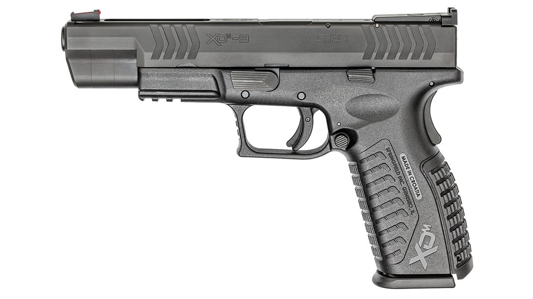 "The Springfield Armory XD-M 5"" received a perfect score from the author."
